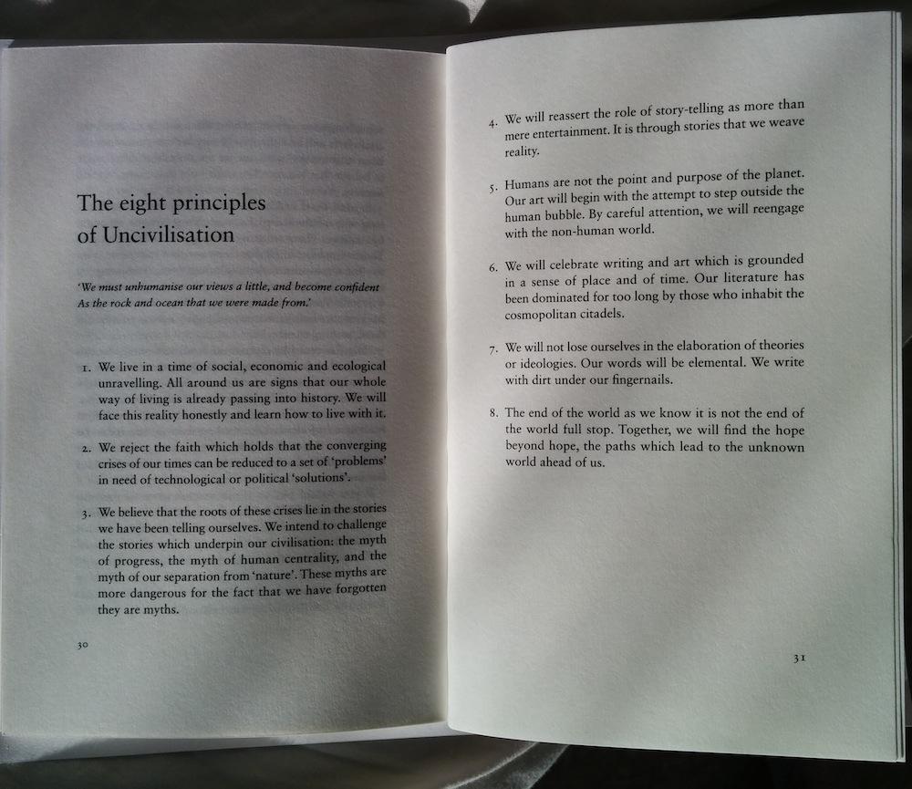 Uncivilisation: The Dark Mountain Manifesto – Dougald Hine